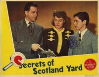 Secrets of Scotland Yard - 11 x 14 Movie Poster - Style A