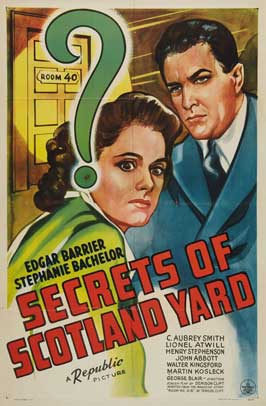 Secrets of Scotland Yard - 27 x 40 Movie Poster - Style A