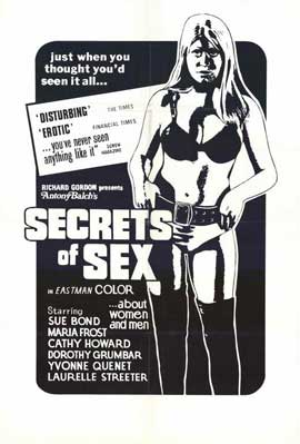 Secrets of Sex - 11 x 17 Movie Poster - Style A