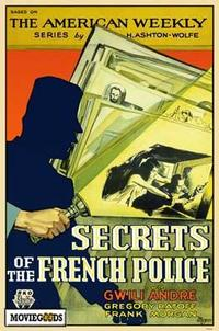 Secrets of the French Police - 27 x 40 Movie Poster - Style A