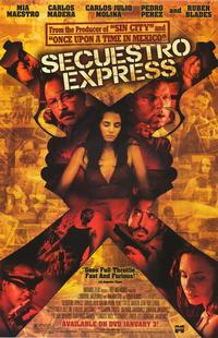 Secuestro Express - 43 x 62 Movie Poster - Bus Shelter Style A