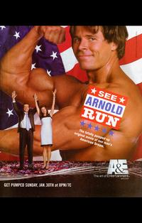 See Arnold Run - 43 x 62 Movie Poster - Bus Shelter Style A