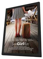 See Girl Run - 11 x 17 Movie Poster - Style A - in Deluxe Wood Frame