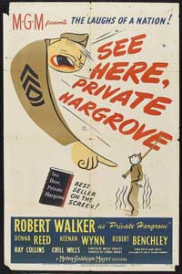 See Here, Private Hargrove - 11 x 17 Movie Poster - Style A
