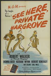See Here, Private Hargrove - 11 x 17 Movie Poster - Style B