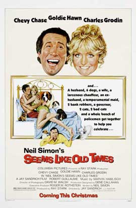 Seems Like Old Times - 27 x 40 Movie Poster - Style B