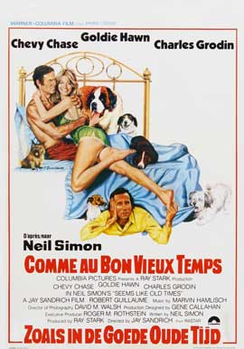 Seems Like Old Times - 27 x 40 Movie Poster - Belgian Style A