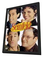 Seinfeld - 11 x 17 TV Poster - Style A - in Deluxe Wood Frame