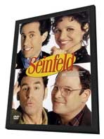 Seinfeld - 27 x 40 TV Poster - Style A - in Deluxe Wood Frame