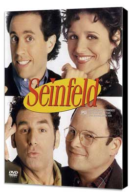 Seinfeld - 27 x 40 TV Poster - Style A - Museum Wrapped Canvas