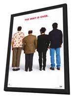 Seinfeld - 11 x 17 TV Poster - Style E - in Deluxe Wood Frame