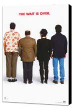 Seinfeld - 11 x 17 TV Poster - Style E - Museum Wrapped Canvas