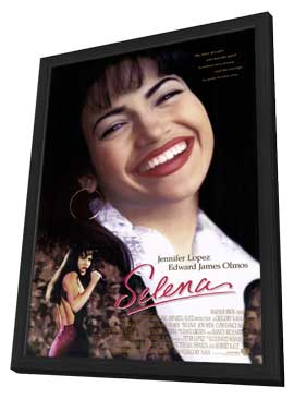 Selena - 27 x 40 Movie Poster - Style A - in Deluxe Wood Frame