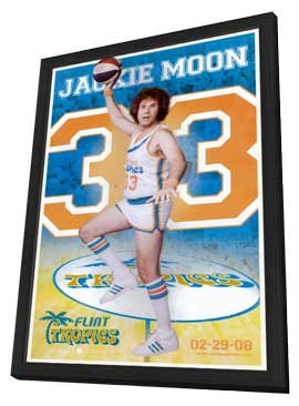 Semi-Pro - 11 x 17 Movie Poster - Style C - in Deluxe Wood Frame