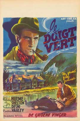 Send for Paul Temple - 11 x 17 Movie Poster - Belgian Style A