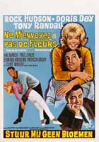 Send Me No Flowers - 11 x 17 Movie Poster - Belgian Style A