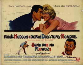 Send Me No Flowers - 22 x 28 Movie Poster - Half Sheet Style A