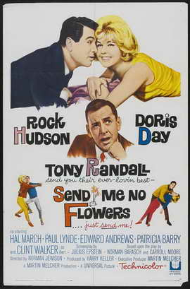 Send Me No Flowers - 27 x 40 Movie Poster - Style A