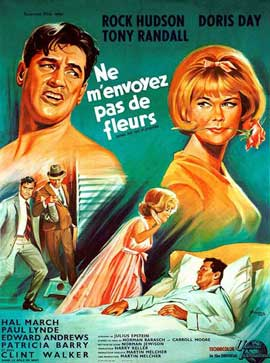 Send Me No Flowers - 11 x 17 Movie Poster - French Style A