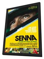 Senna - 27 x 40 Movie Poster - UK Style A - in Deluxe Wood Frame
