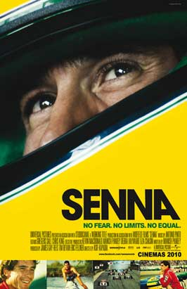Senna - 43 x 62 Movie Poster - Bus Shelter Style A