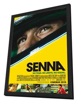 Senna - 11 x 17 Movie Poster - Style A - in Deluxe Wood Frame