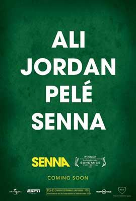 Senna - 43 x 62 Movie Poster - Bus Shelter Style B