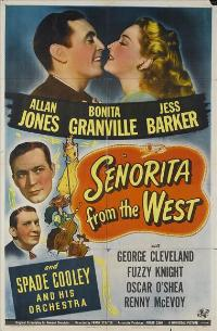 Senorita from the West - 27 x 40 Movie Poster - Style A