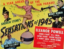 Sensations of 1945 - 11 x 14 Movie Poster - Style A