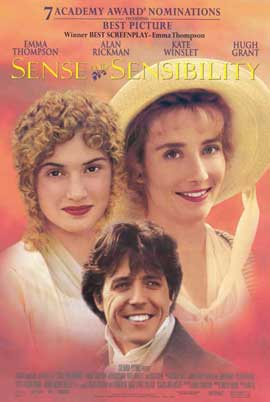 Sense and Sensibility - 11 x 17 Movie Poster - Style A