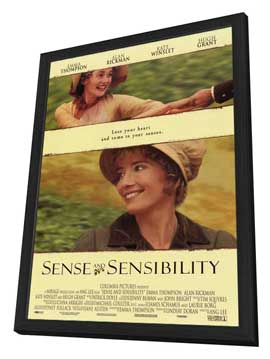 Sense and Sensibility - 11 x 17 Movie Poster - Style B - in Deluxe Wood Frame