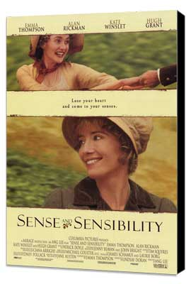 Sense and Sensibility - 27 x 40 Movie Poster - Style A - Museum Wrapped Canvas