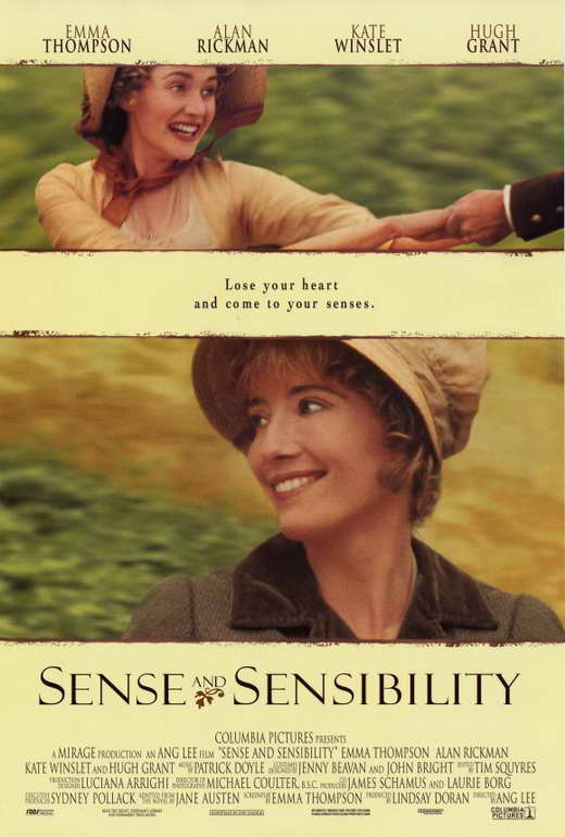 Sense and Sensibility Movie Posters From Movie Poster Shop