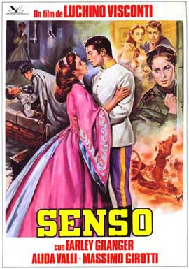 Senso - 11 x 17 Movie Poster - Spanish Style A