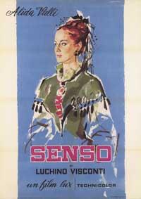 Senso - 11 x 17 Movie Poster - Italian Style B