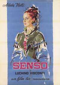 Senso - 43 x 62 Movie Poster - Italian Style B