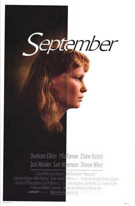 September - 11 x 17 Movie Poster - Style A