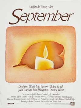 September - 11 x 17 Movie Poster - French Style A