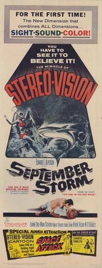 September Storm - 14 x 36 Movie Poster - Insert Style A