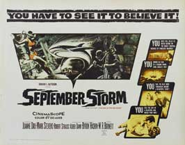 September Storm - 11 x 14 Movie Poster - Style I