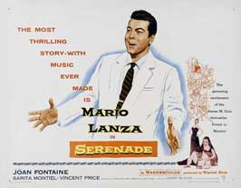 Serenade - 11 x 14 Movie Poster - Style A