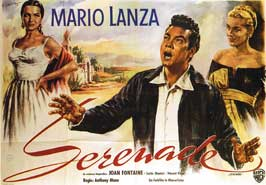 Serenade - 11 x 17 Movie Poster - German Style A