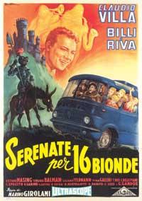 Serenata per sedici bionde - 27 x 40 Movie Poster - Italian Style A