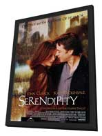 Serendipity - 27 x 40 Movie Poster - Style A - in Deluxe Wood Frame