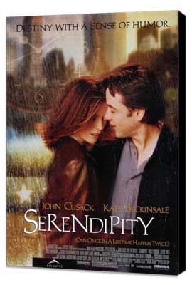 Serendipity - 27 x 40 Movie Poster - Style A - Museum Wrapped Canvas