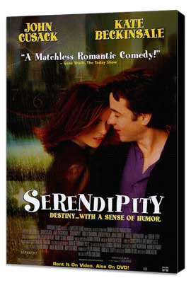 Serendipity - 27 x 40 Movie Poster - Style B - Museum Wrapped Canvas