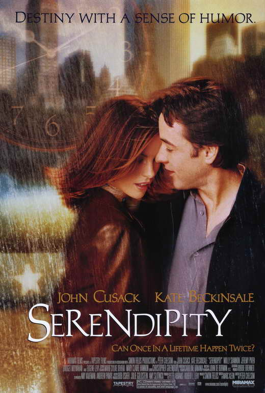 Quando l'amore è magia Serendipity download ITA 2001 (TORRENT) Poster