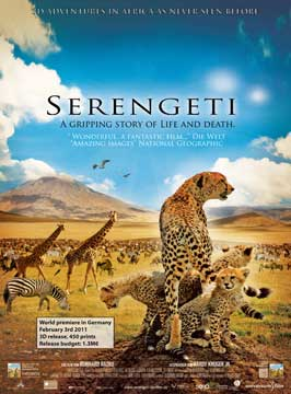 Serengeti - 27 x 40 Movie Poster - Style A