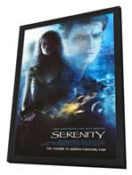 Serenity - 27 x 40 Movie Poster - Style A - in Deluxe Wood Frame