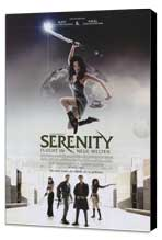 Serenity - 11 x 17 Movie Poster - German Style A - Museum Wrapped Canvas